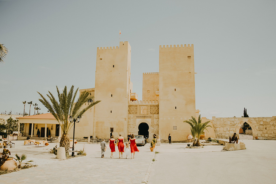 WEDDING PHOTOS IN SPAIN  / ALINGUI CASTTLE