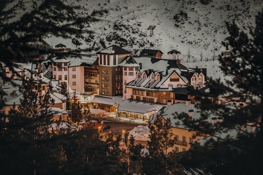 sierra nevada foto de postal