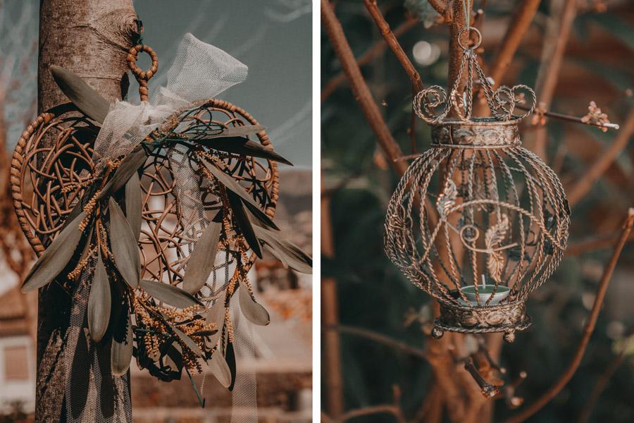 Elementos decorativos Boho Chic Vintage