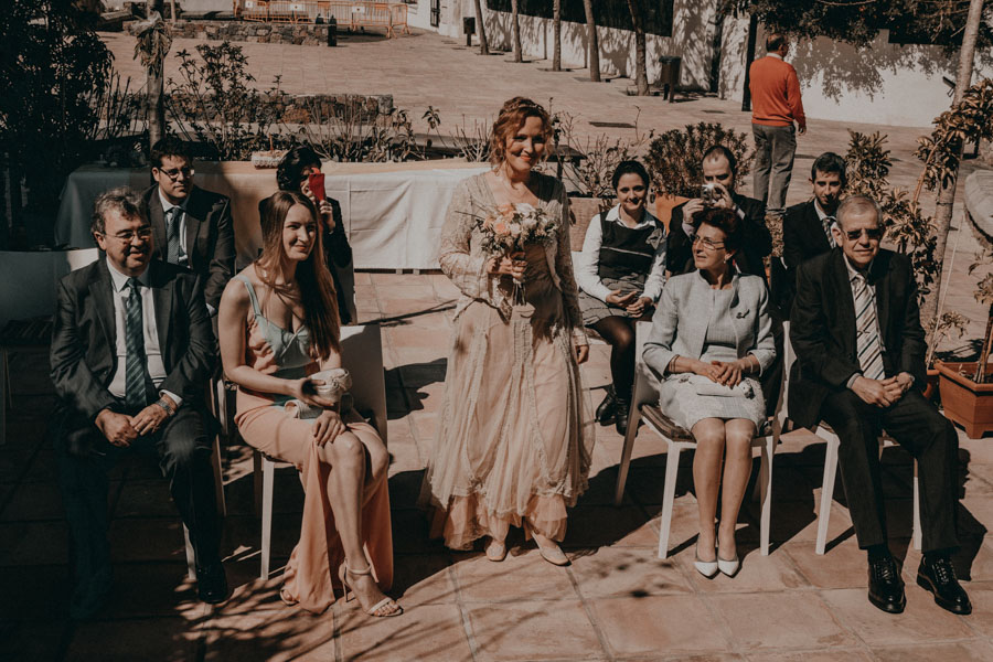 Boda en Altea entrada de novia