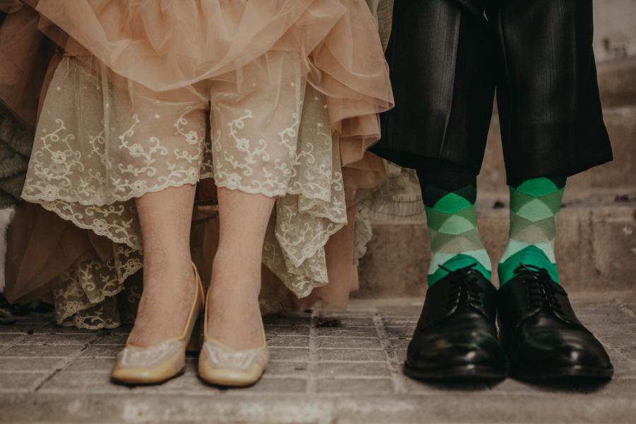 zapatos de boda boho chic