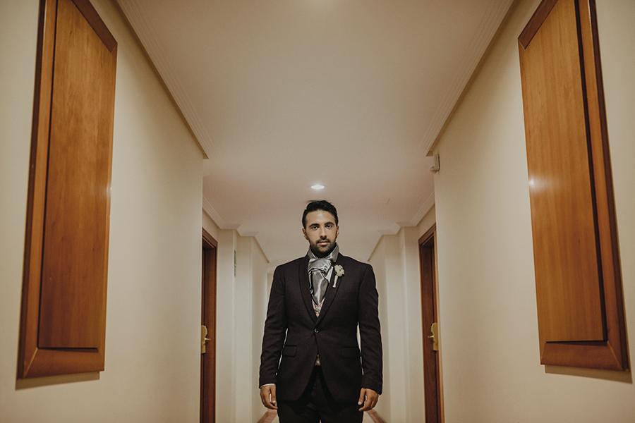 Hotel Bonalba Alicante preparativos del novio