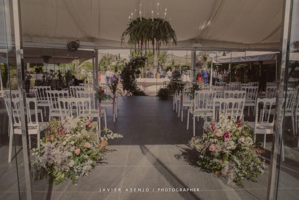 Nerea Nájera Wedding Planner , decoración en Salones Juanjo, boda en 2020, Javier Asenjo Fotógrafo